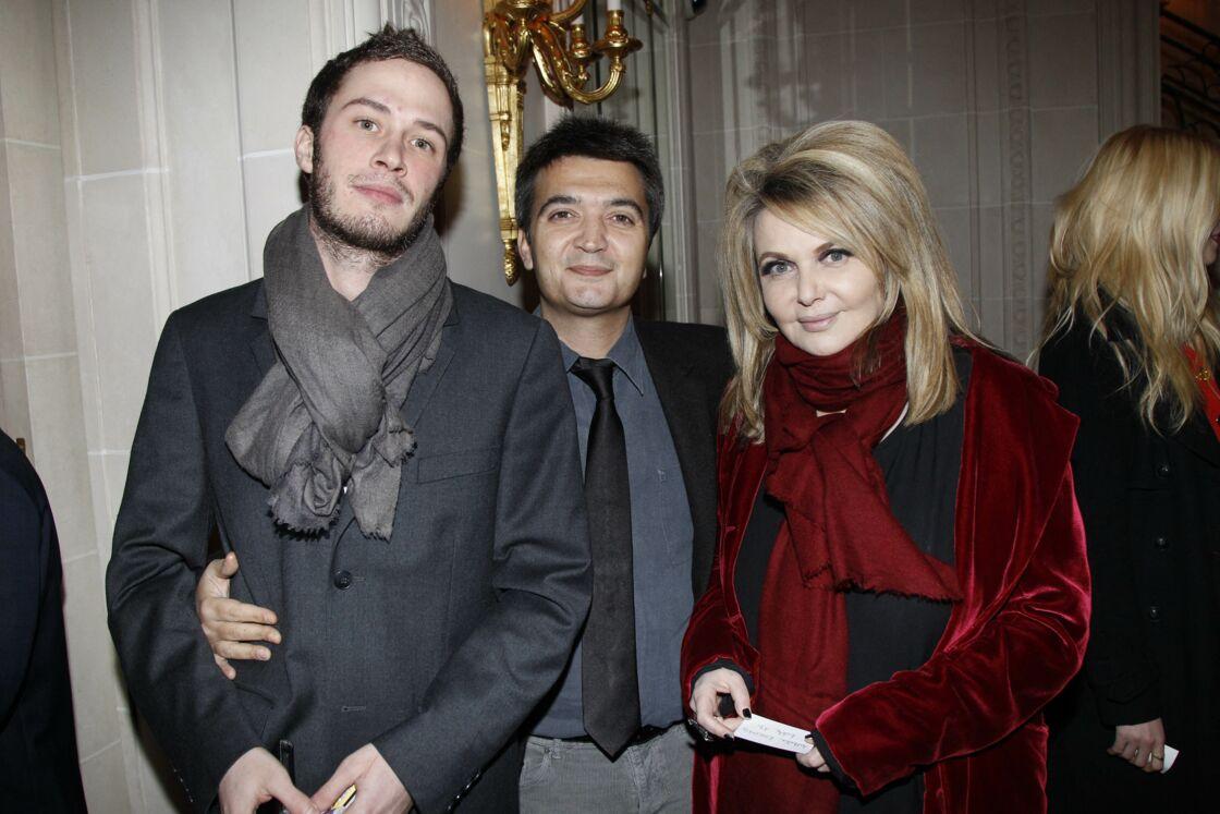 Darius Langmann, Thomas Langmann et Nathalie Rheims en février 2012.