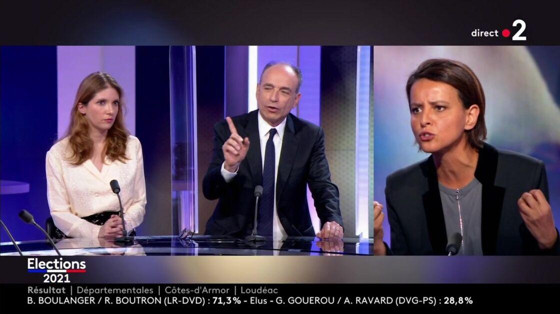 Le débat était tendu entre Najat Vallaud-Belkacem et Jean-François Copé, ce dimanche 27 juin, sur France 2.