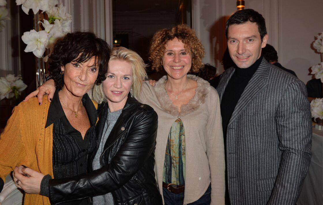 Chrystelle Labaude, Virginie Caliari, Olivia Lancelot, Franck Sémonin - Cocktail pour fêter le 100ème épisode de la série