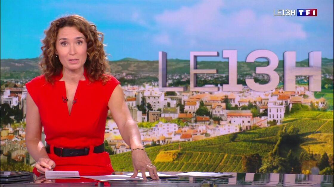 Marie-Sophie Lacarrau sur TF1, ce mardi 29 juin 2021