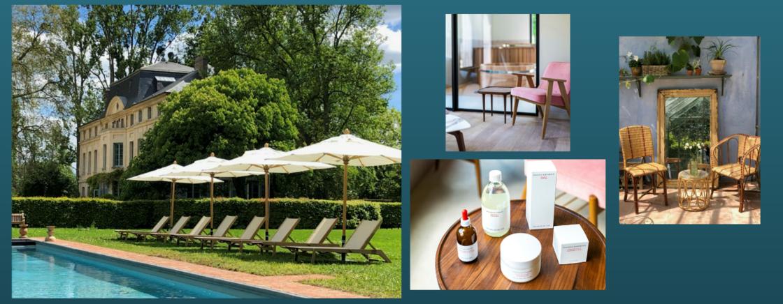 Ouvert au mois de juin 2021, le Domaine de Primard accueille le premier spa Suzanne Kaufman en France !