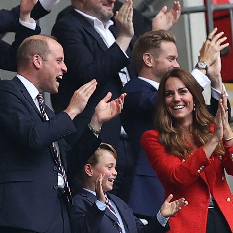 PHOTOS – Le prince George aux premières loges de l'Euro 2021
