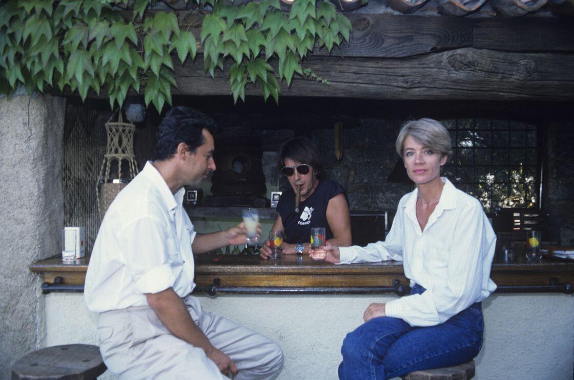 Françoise Hardy et Jacques Dutronc interviewés chez eux en Corse, par Michel Denisot, en 1988.