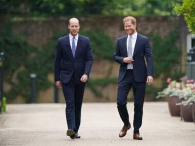 PHOTOS - Statue hommage à Diana dévoilée : Harry et William réunis