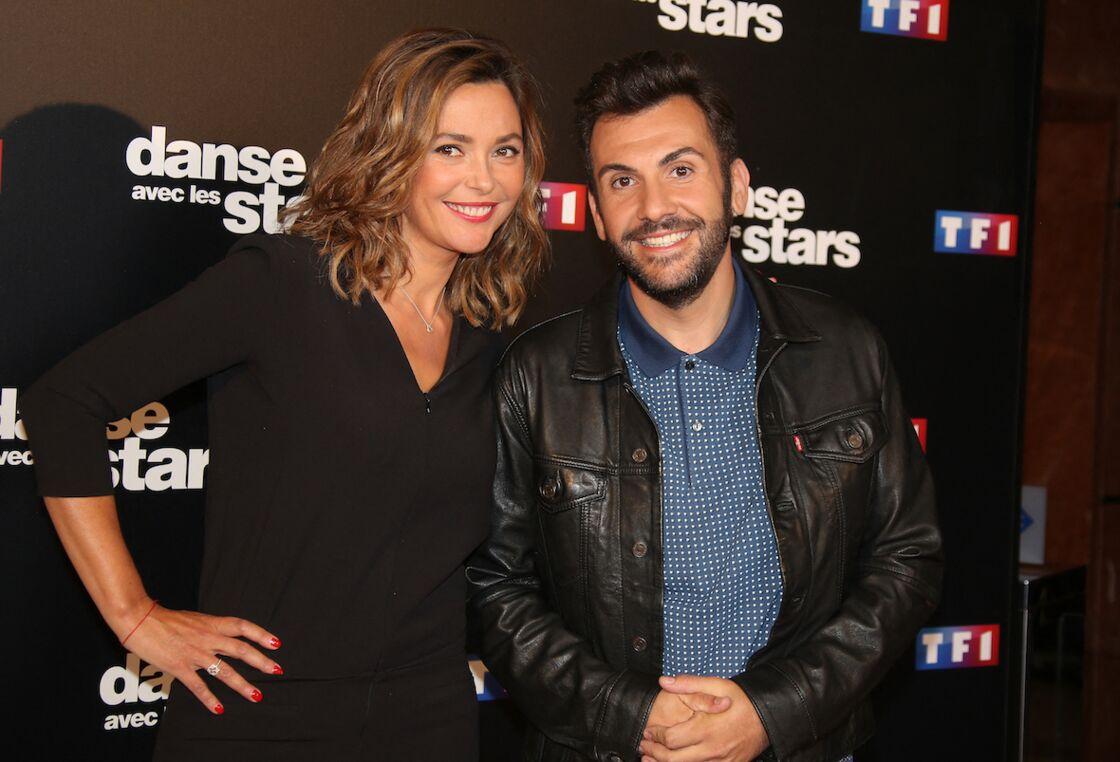 Sandrine Quétier et Laurent Ournac en septembre 2016.