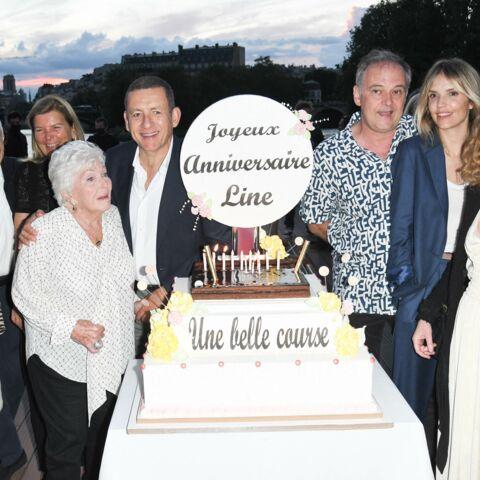 PHOTOS – Dany Boon et Laurence Arné: 1ère apparition en couple pour célébrer Line Renaud