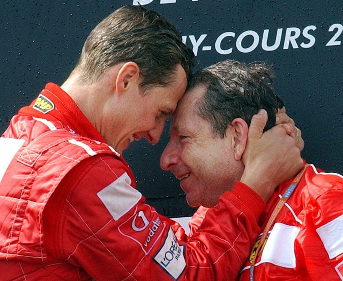 Michael Schumacher et Jean Todt en 2013