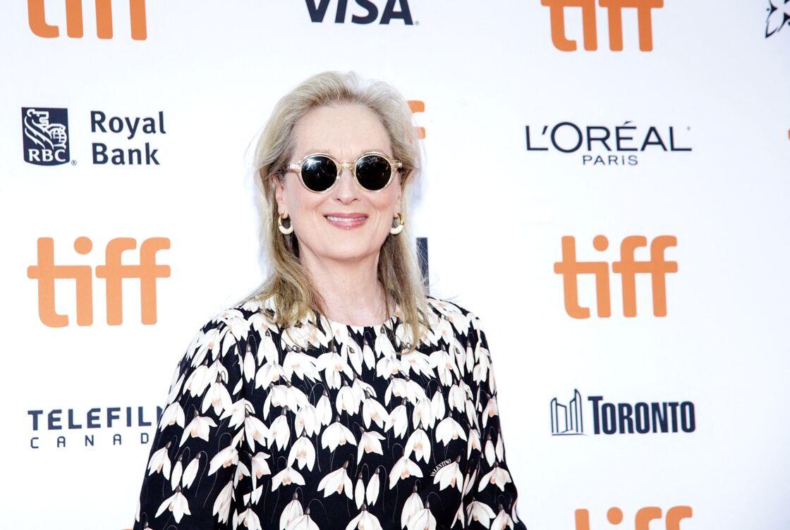 Meryl Streep à la première du film
