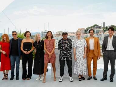 PHOTOS - Spike Lee déjà complice avec Mylène Farmer et Mélanie Laurent au Festival de Cannes