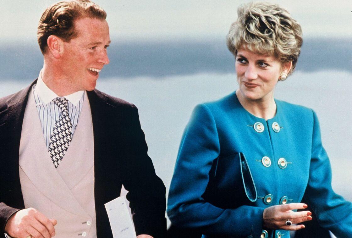 James Hewitt et Lady Diana