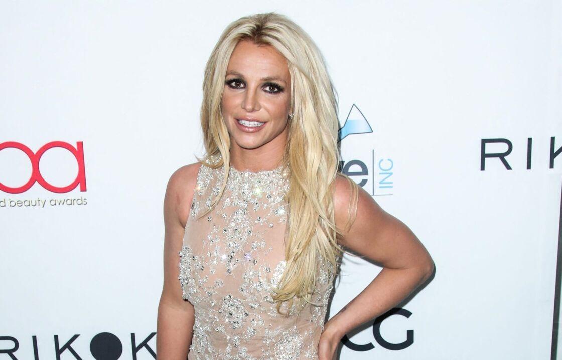 Britney Spears à la 4ème soirée annuelle Hollywood Beauty Awards au Avalon à Hollywood, le 25 février 2018