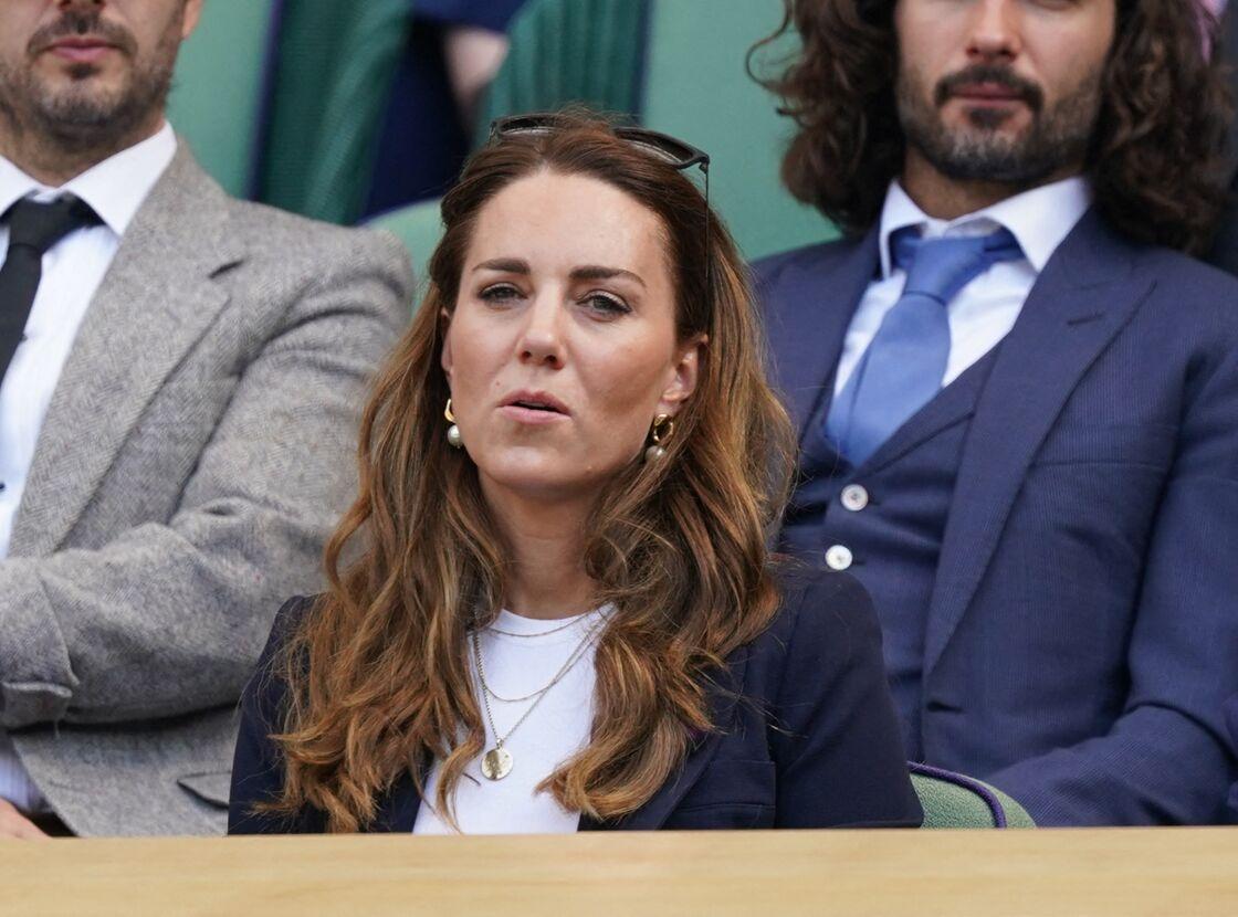 La dernière apparition publique de Kate Middleton date du 2 juillet, à Wimbledon, lorsqu'on lui apprit qu'elle était cas contact.