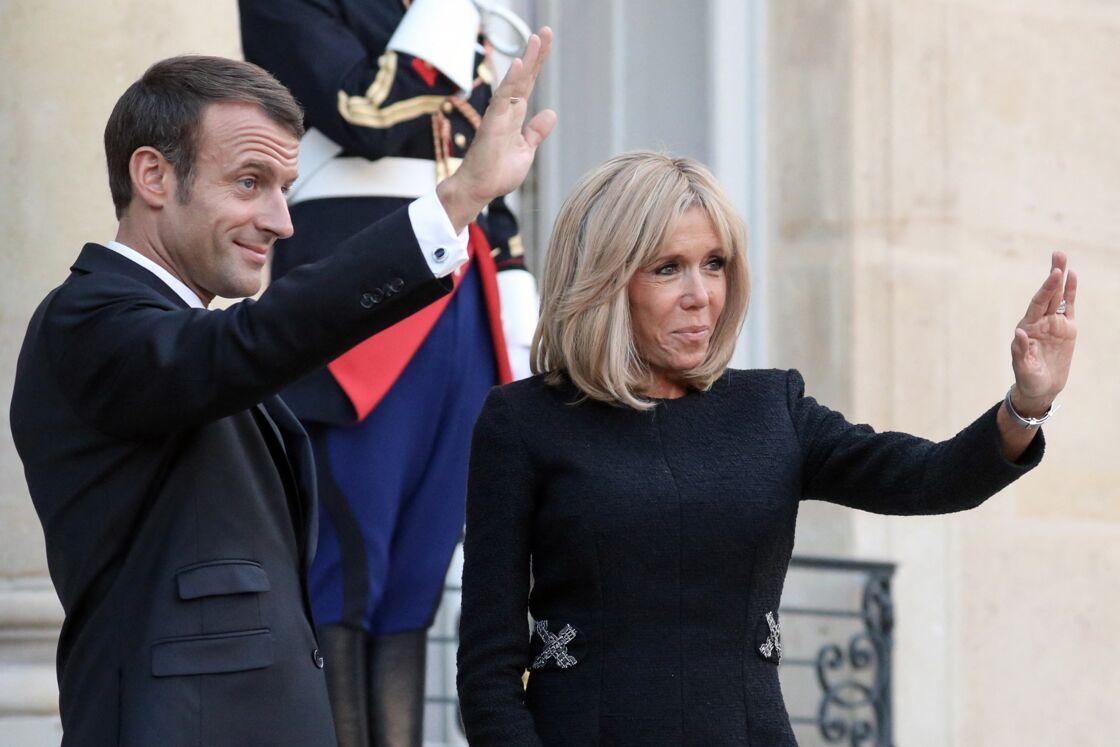 De son côté, Brigitte Macron préfère ne pas évoquer le sujet de la présidentielle de 2022.