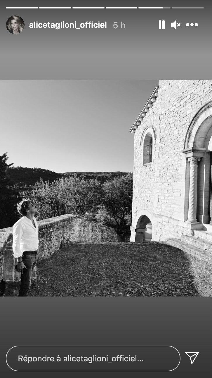 Laurent Delahousse en pleine visite au Mont Ventoux