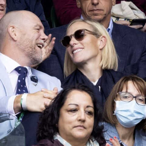PHOTOS – Zara Phillips et Mike Tindall: les amoureux de Wimbledon