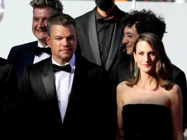 PHOTOS - Cannes 2021 : Camille Cottin et Matt Damon, un duo magnifique sur le tapis rouge