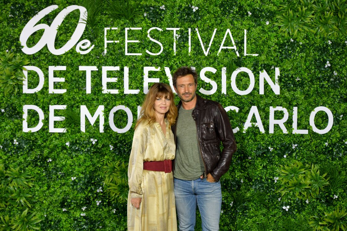 Gwendoline Hamon et Alexandre Varga de la série Cassandre au Festival de Télévision de Monte-Carlo le 19 juin 2021