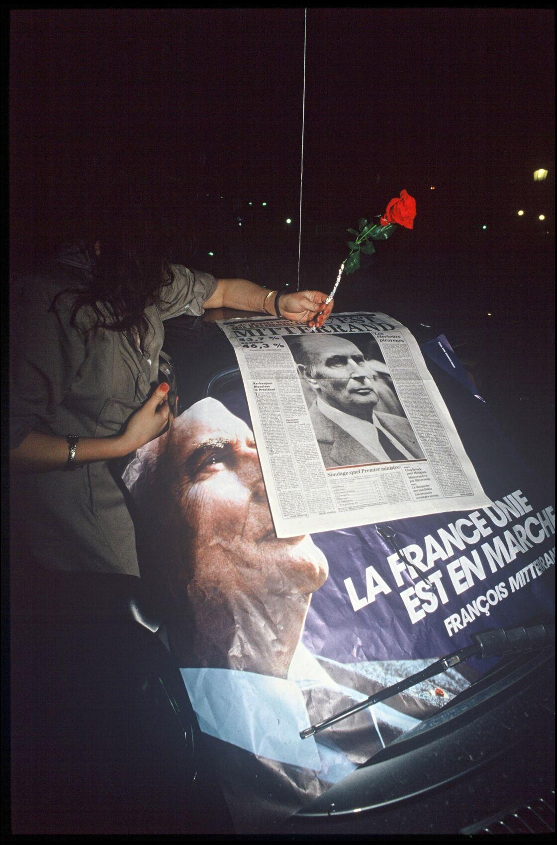 Election de François Mitterrand en 1988.