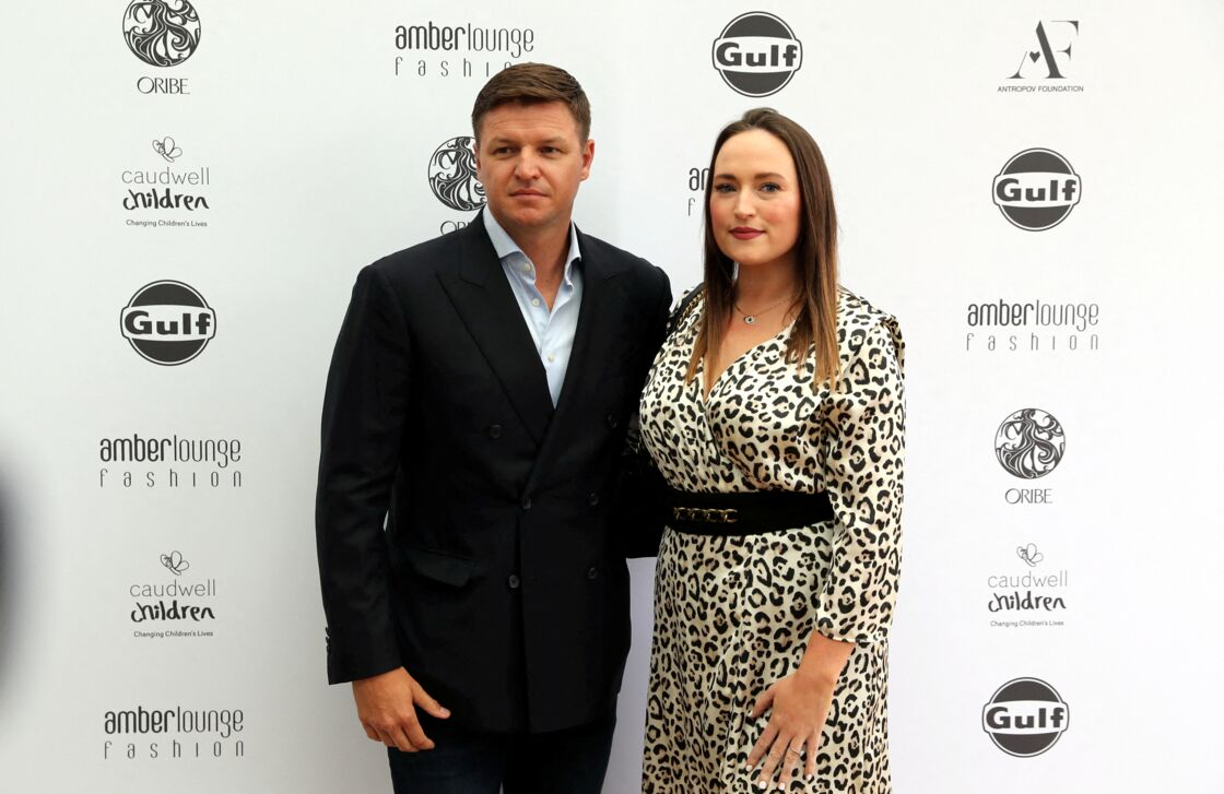 Gareth Wittstock et sa femme Roisin Galvin