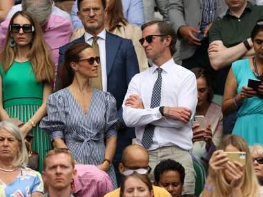 PHOTOS - Pippa Middleton : 1ere sortie officielle à Wimbledon avec son époux depuis son accouchement