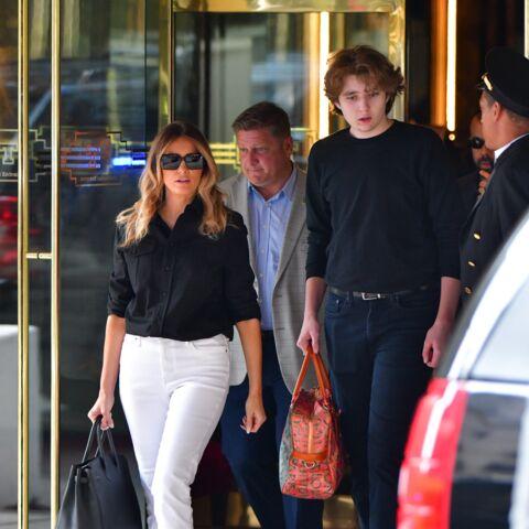 PHOTOS – Barron Trump méconnaissable: le fils de Melania et Donald a beaucoup changé