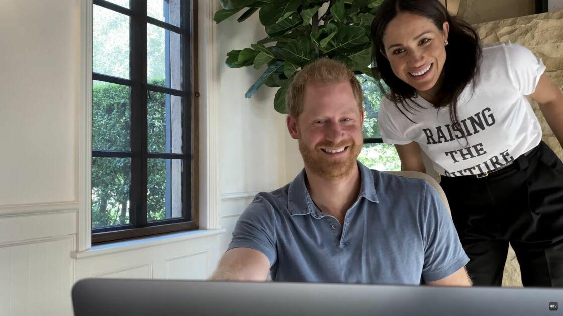 Le prince Harry et sa femme Meghan Markle apparaissent dans la bande-annonce de la série-documentaire