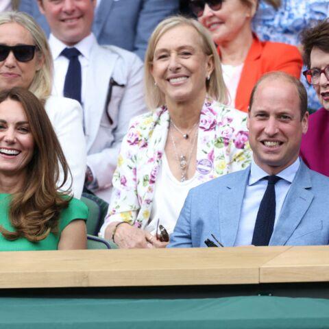 PHOTOS – Kate Middleton: beauté émeraude aux côtés de William pour la finale de Wimbledon