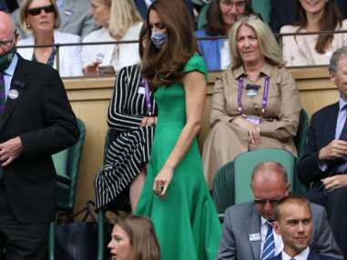 PHOTOS - Kate Middleton : beauté émeraude aux côtés de William pour la finale de Wimbledon