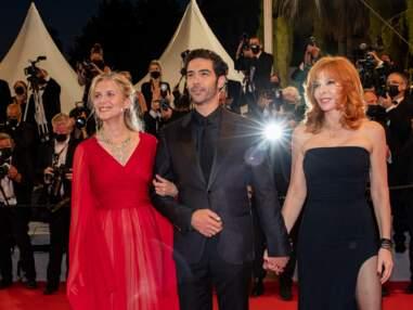 PHOTOS - Cannes 2021 : Mylène Farmer, Tahar Rahim, Mélanie Laurent... Le jury fait sensation sur le tapis rouge