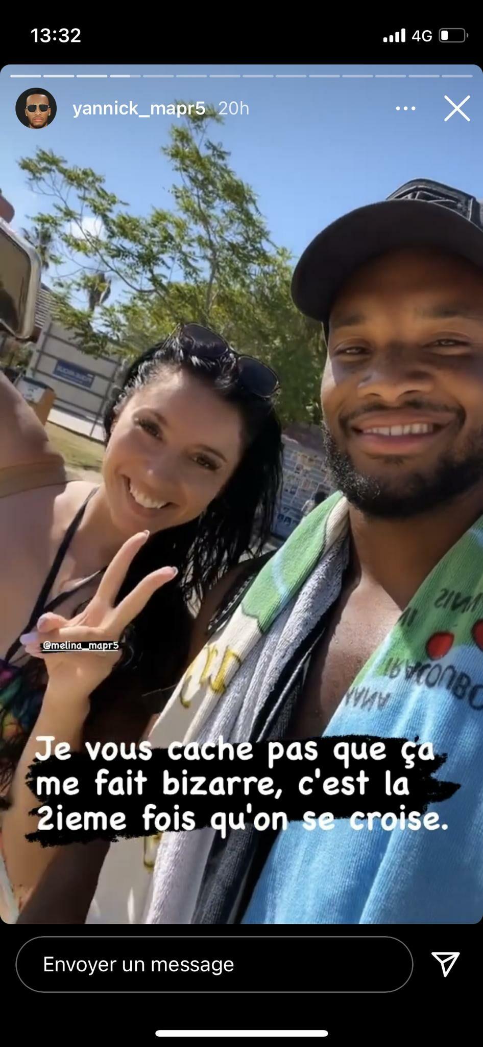 Yannick et Mélanie (MAPR) se croisent par hasard en vacances dans le sud de la France.