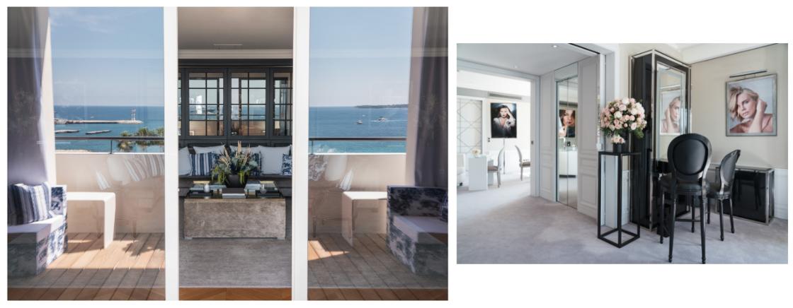 La Suite Dior Beauté, située au 6e étage de l'hôtel Barrière Le Majestic