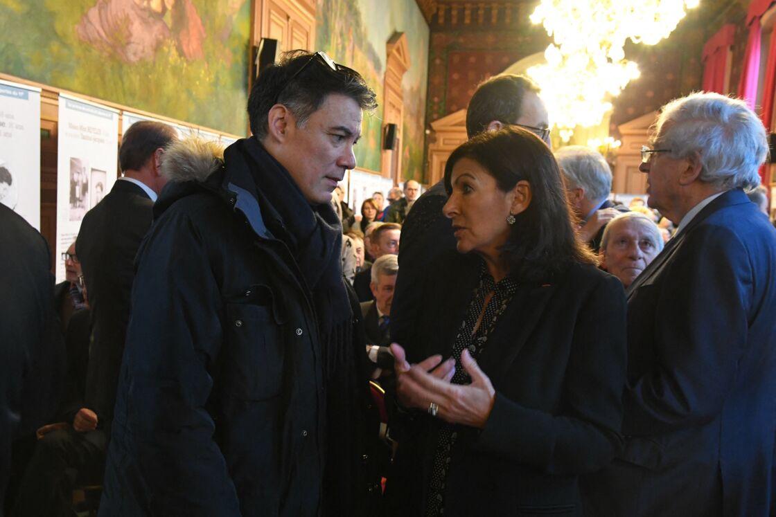 Olivier Faure et Anne Hidalgo en février 2019 à Paris.