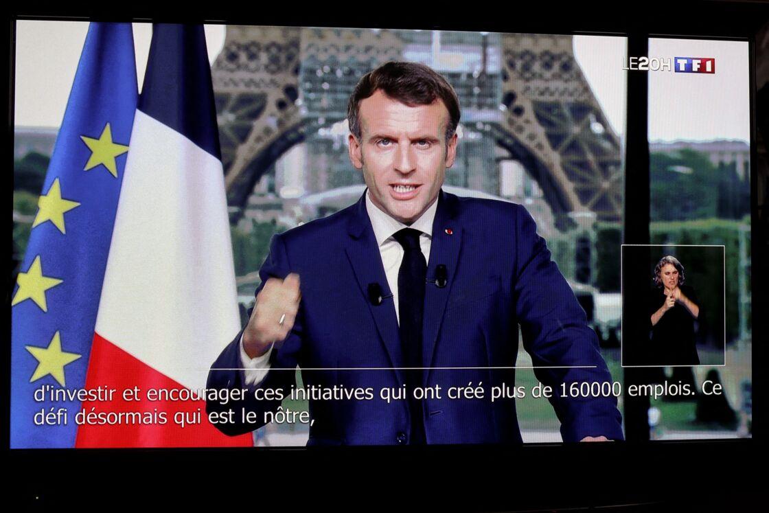 Huitième allocution solennelle en un an et demi pour Emmanuel Macron le 12 juillet dernier