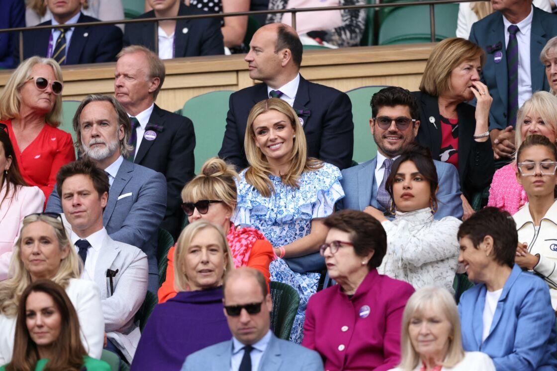 Kate Middleton, le prince William et Priyanka Chopra ont assisté à la finale femme de Wimbledon.