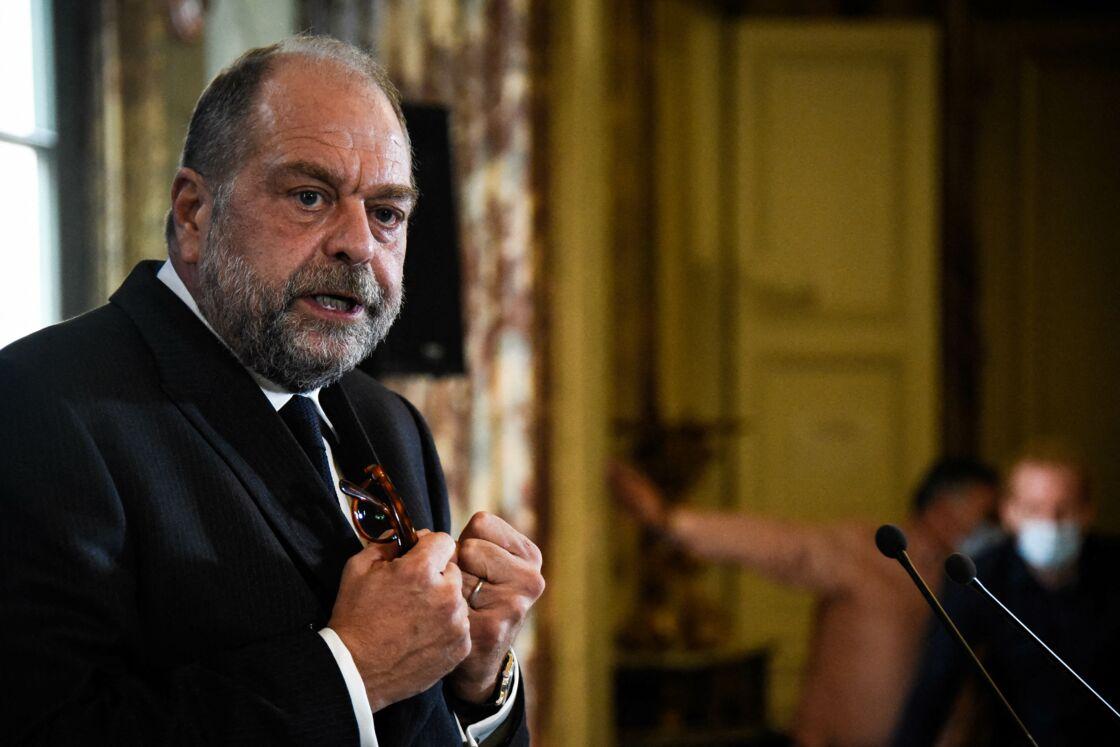 Eric Dupond-Moretti au ministère de la Justice en septembre 2020.