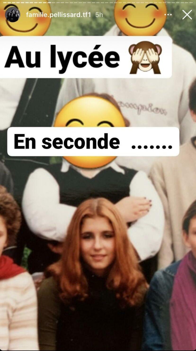 Amandine Pellissard au lycée