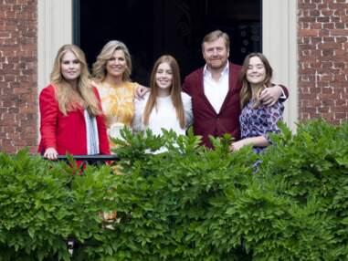 PHOTOS - Maxima et Willem-Alexander des Pays-Bas éclipsés par le charme de leurs 3 filles