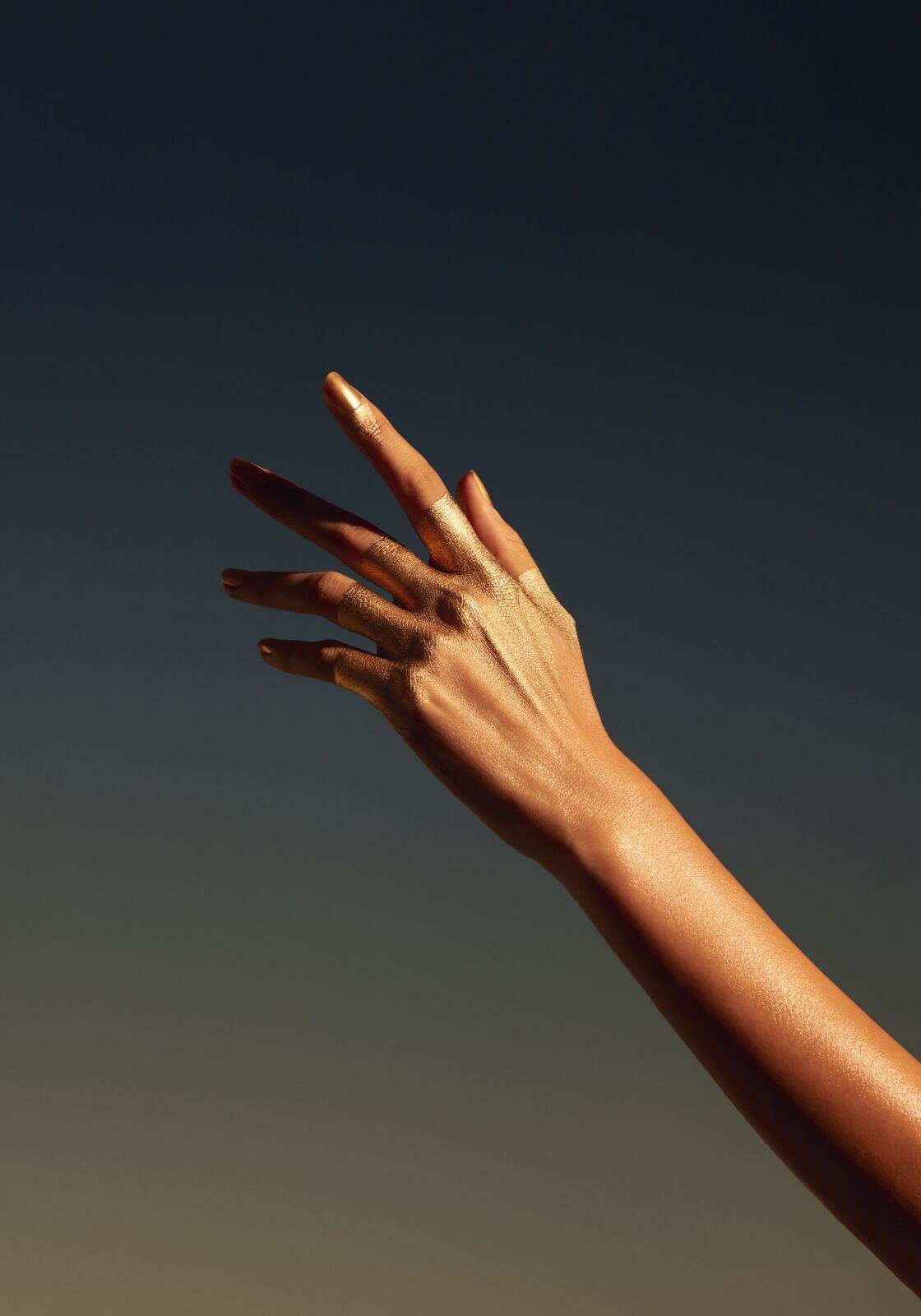 Vernis Golden Sand, Chanel.