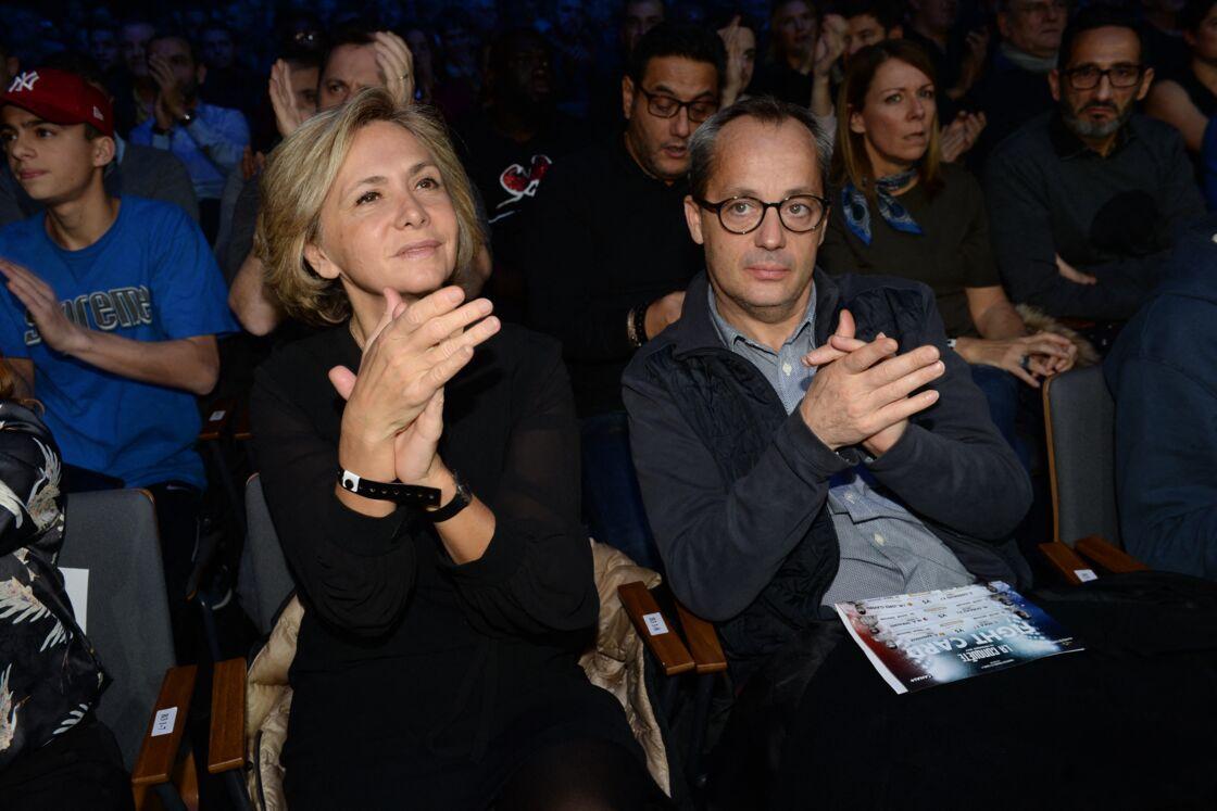 Valérie Pécresse et son mari Jérôme en 2017 à Boulogne-Billancourt.