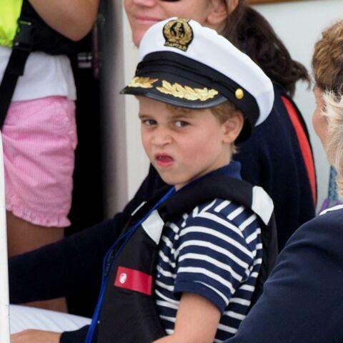 PHOTOS – Le prince George espiègle: ses photos les plus loufoques!