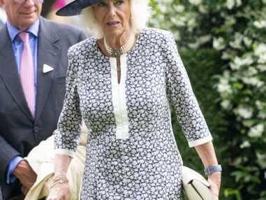 PHOTOS - Camilla Parker Bowles, très élégante, attire les regards à Ascot