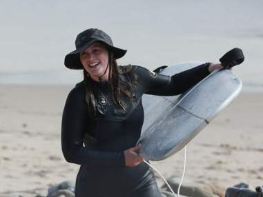 PHOTOS - Leighton Meester : avec son mari Adam Brody, l'ex Gossip Girl s'éclate à Malibu