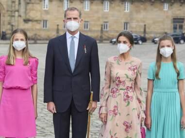 PHOTOS - Leonor et Sofia d'Espagne craquantes et flashy, elles éclipsent la reine Letizia