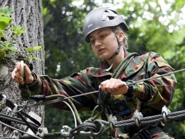 Elisabeth de Belgique a participé à un stage de trois jours au Centre d'entrainement Commando à Marche-les-Dames