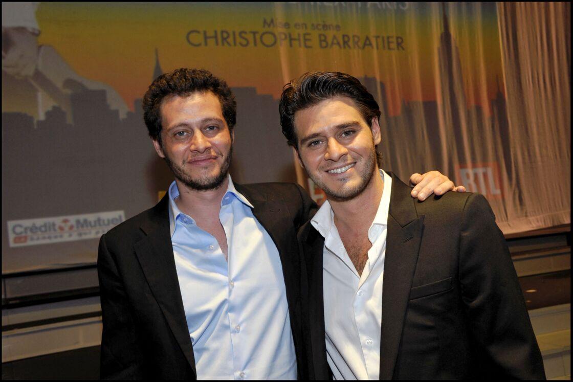 Jonathan Dassin et Julien Dassin en 2010.