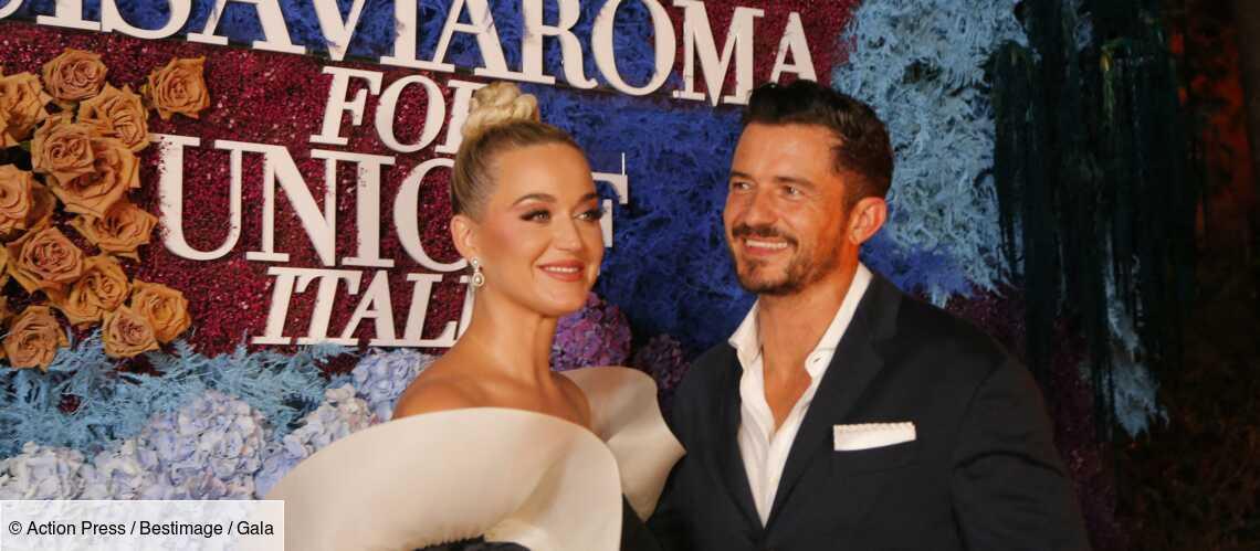 PHOTOS – Katy Perry glamour au bras d'Orlando Bloom, elle ne se prive pas d'une petite infidélité - Gala