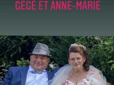 Karine Le Marchand émue : Gégé et Anne-Marie (L'amour est dans le pré) se sont mariés