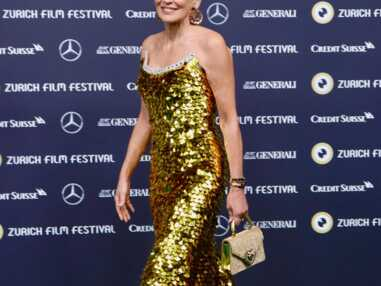 Sharon Stone éblouissante au Festival du film de Zurich