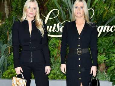 Les sœurs Eliza et Amelia Spencer assidues à la Fashion Week de Milan