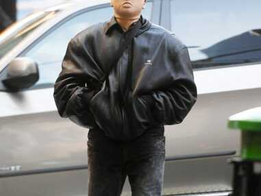 PHOTOS - Kanye West aperçu avec d'étranges masques